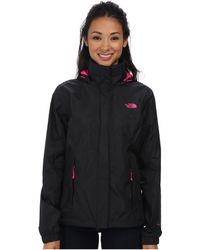The North Face Black Resolve Jacket - Lyst