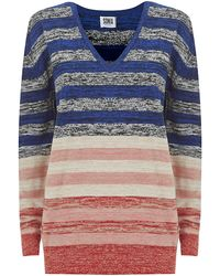 Sonia By Sonia Rykiel Multistriped Sweater - Lyst