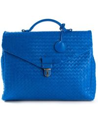 Bottega Veneta Intrecciato Briefcase - Lyst