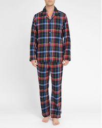 Polo Ralph Lauren   Red/blue/black Checked Flannel Pyjamas   Lyst