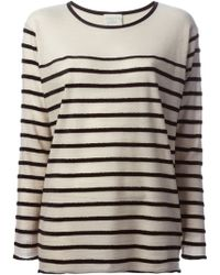 Forte Forte Loose Striped Top - Lyst