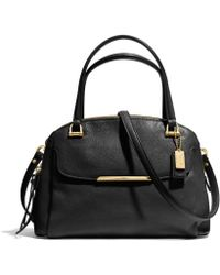 COACH - Madison Small Georgie in Leather - Lyst