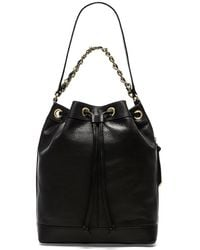 Foley + Corinna Billy Leather Bucket Bag - Lyst
