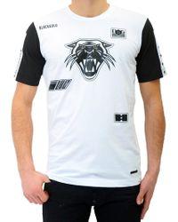Diesel Black Gold Toriciy-Moto-T-Shirt white - Lyst