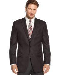 Calvin Klein Herringbone Slimfit Sport Coat - Lyst