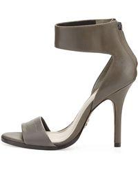 Pour La Victoire Yara Ankle-wrap Sandal - Lyst
