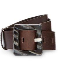Cc Resin Buckle Belt - Lyst