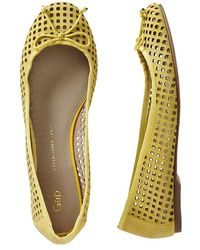 Gap Perforated Ballet Flats - Lyst