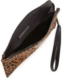 Elizabeth And James Pyramid Spotted Slim Wristlet Clutch Bag - Lyst