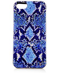 Diane von Furstenberg Python-print Iphone Case - Lyst