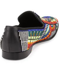 Donald J Pliner Pascow Mens Beaded Loafer - Lyst
