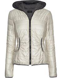 James Lakeland - Jersey Lined Puffer Jacket - Lyst