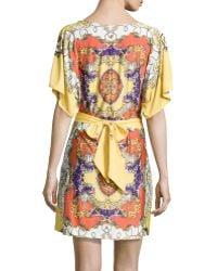 BCBGMAXAZRIA Dolmansleeve Kimono Dress - Lyst