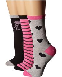 Life Is Good.   Valentine's Day Crew Sock 3-pack   Lyst