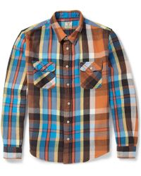 Levi's Vintage Clothing Check Wovencotton Shirt - Lyst