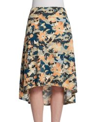 Threads For Thought - Hanover Floral-Print Skirt - Lyst