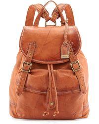 Frye Campus Dakota Leather Backpack - Lyst