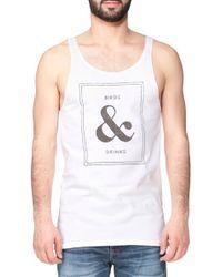 Scotch & Soda Printed T-Shirt - Lyst