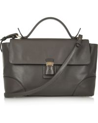 Jil Sander Leather Tote - Lyst