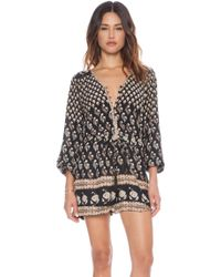 Spell & The Gypsy Collective - Bohemian Royale Playsuit - Lyst