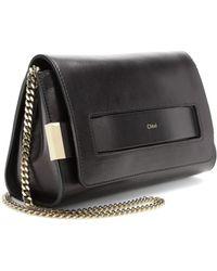 Chloé Elle Leather Shoulder Bag - Lyst