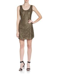 Rachel Zoe Tilly Silk Georgette Sequined Dress - Lyst