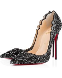 Christian Louboutin Top Vague Kid/Suede - Lyst