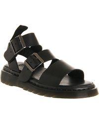 Dr. Martens Shore Gryphon Strap Sandals - For Women black - Lyst