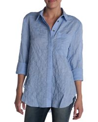 10 Crosby Derek Lam Button Down Shirt - Lyst