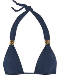 ViX Bia Triangle Bikini Top - Lyst