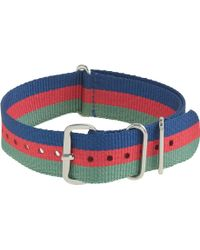 J.Crew Stripe Watch Strap - Lyst