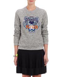 Kenzo Tiger-Beaded Sweatshirt - Lyst