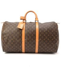 Louis Vuitton Pre-owned Keepall 55 - Lyst