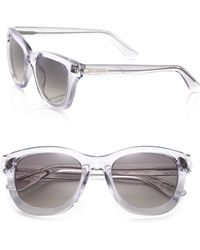 Valentino Studded 51Mm Cat'S-Eye Sunglasses - Lyst