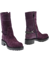 Emporio Armani Ankle Boots - Lyst