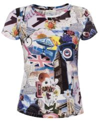 Paul Smith 'London Montage' Print Cotton T-Shirt - Lyst