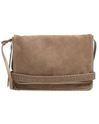 AllSaints - 'club' Convertible Foldover Clutch - Lyst