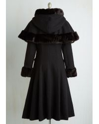 Collectif Clothing - Cape Me Company Coat - Lyst