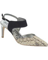 Sam Edelman Ola Two-Tone Leather Heels - Lyst