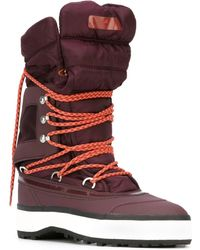 Adidas by stella mccartney Winter Quilted Snow Boots in Red   Lyst : adidas quilted boots - Adamdwight.com