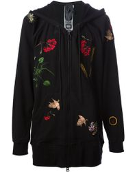 Bernhard Willhelm Flora and Fauna Embroidered Hoodie - Lyst