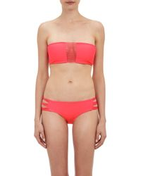 Mikoh Swimwear Sunset Bandeau Bikini Top - Lyst