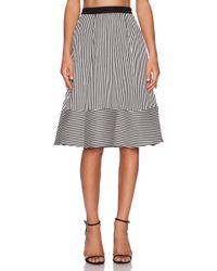 Line & Dot - Pleat Full Skirt - Lyst