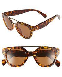 Fantaseyes - 50mm Retro Sunglasses - Lyst
