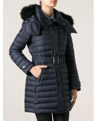 Burberry Brit Padded Coat - Lyst