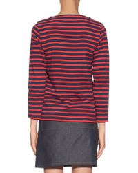 Orcival - Long-sleeved Striped Top - Lyst