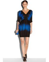Milly Dolman V-Neck Dress - Lyst