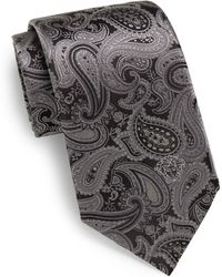 Versace Paisley Silk Tie - Lyst