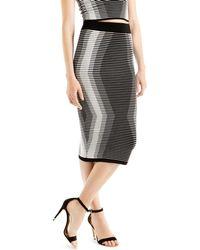 Ted Baker | Benequi Knit Midi Skirt | Lyst