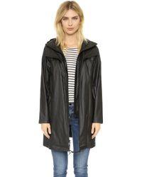 DKNY - Pure Hooded Coat - Lyst
